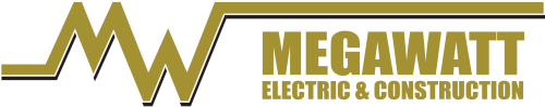 Megawatt Pro Electric and Construction Logo